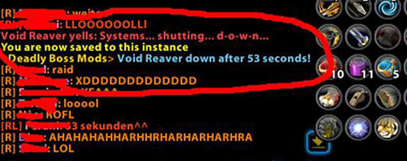 Void Reaver exploited, brought down in 53 seconds