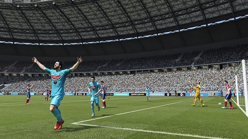 FIFA 15 demo starts rolling out today
