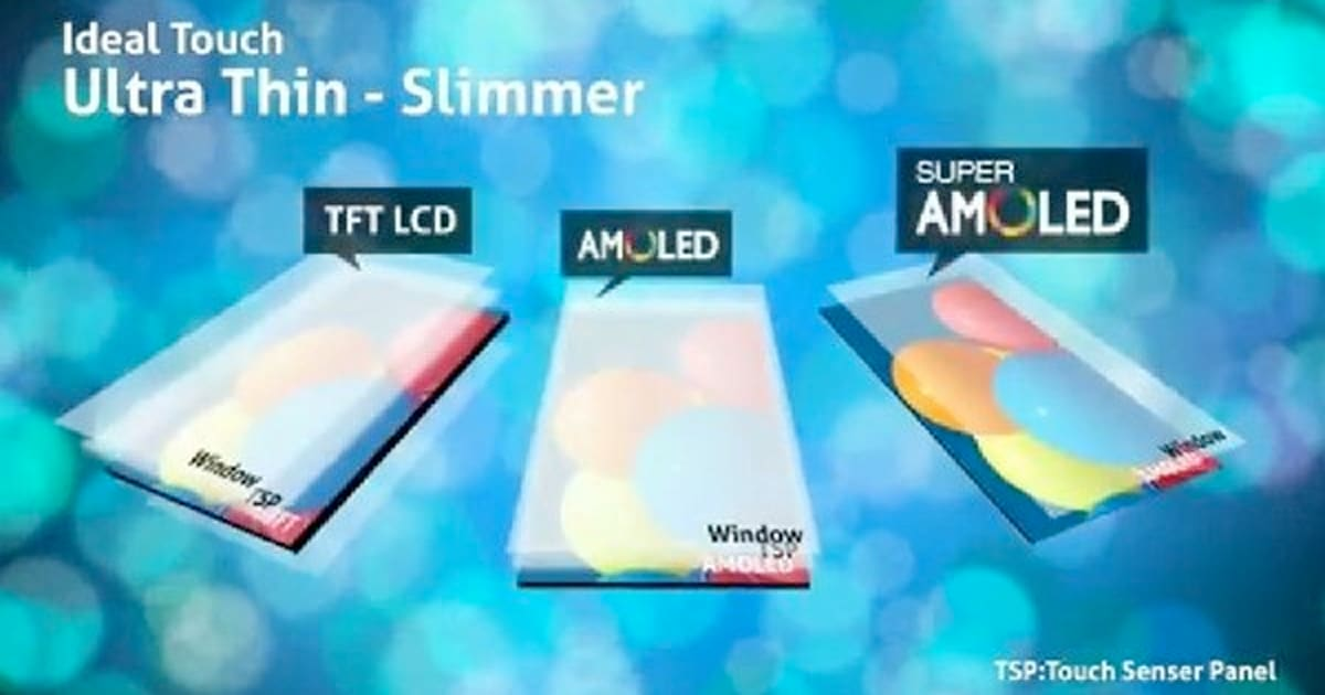 Samsung Super AMOLED explained in pretty moving pictures ...