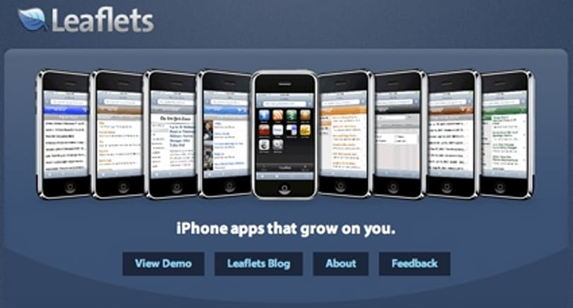 Leaflets: Another well done iPhone portal app