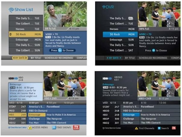 Time Warner Cable starts rolling out lightly refreshed guide with new color scheme, cloud VOD search