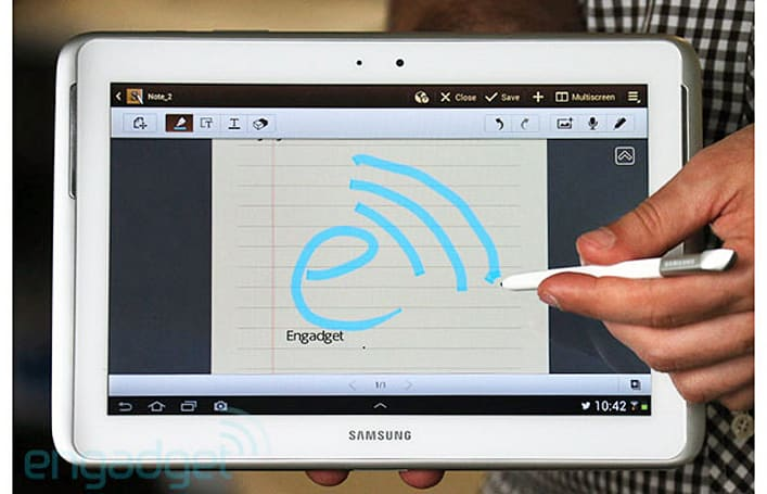 EE introduces the UK's first 4G Android tablet: Samsung Galaxy Note 10.1 LTE available starting today