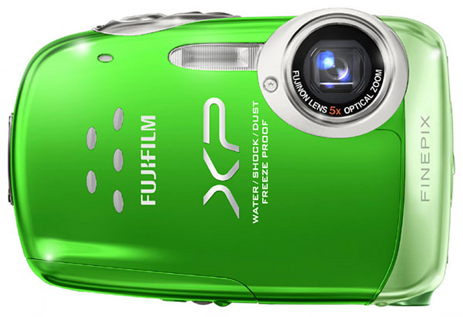 Fujifilm's durable, dunkable FinePix XP10 compact camera gets a review