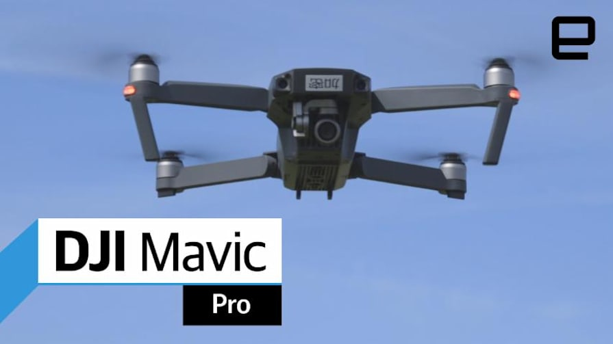DJI Mavic Pro: Hands-On