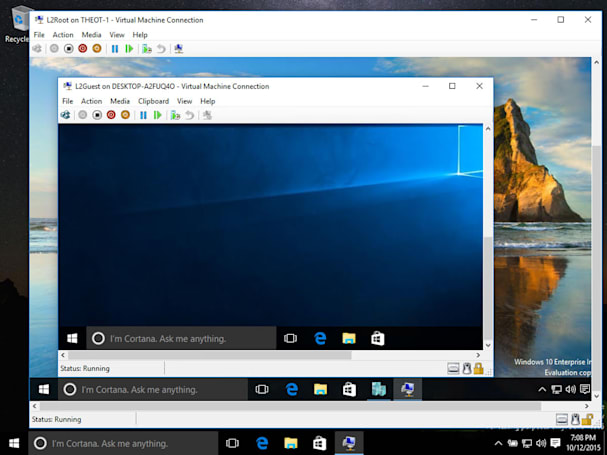 Windows 10 now does Windows within Windows within Windows
