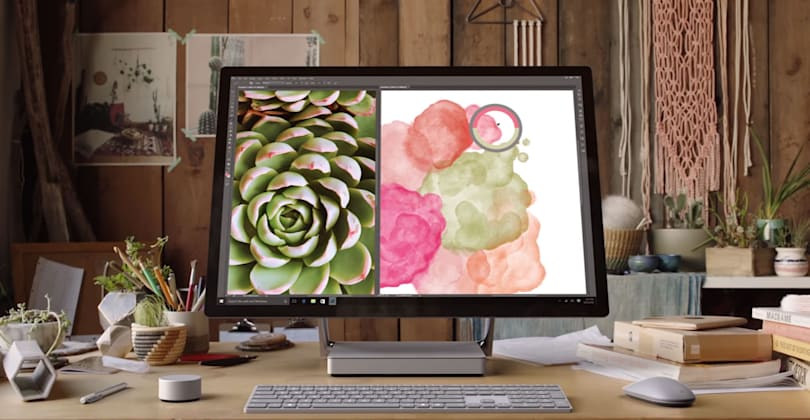 Surface Studio vs. the competition: Beauty isn't skin deep