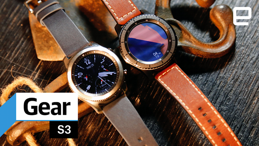 Samsung Gear S3: Hands-on