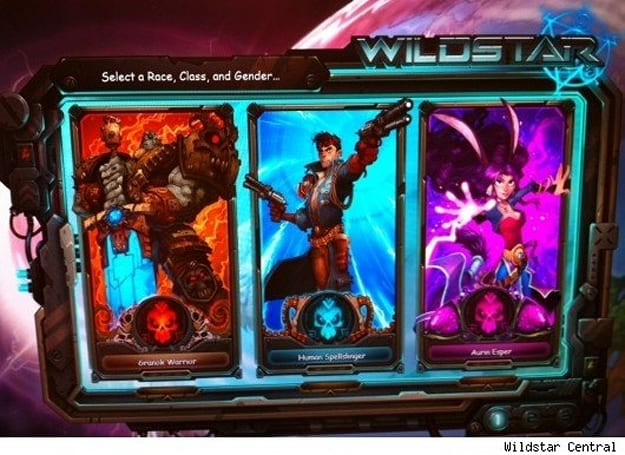 Gamescom 2011: WildStar reveals first three races and classes