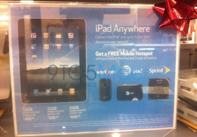 Best Buy offering free mobile hotspots with iPad purchase
