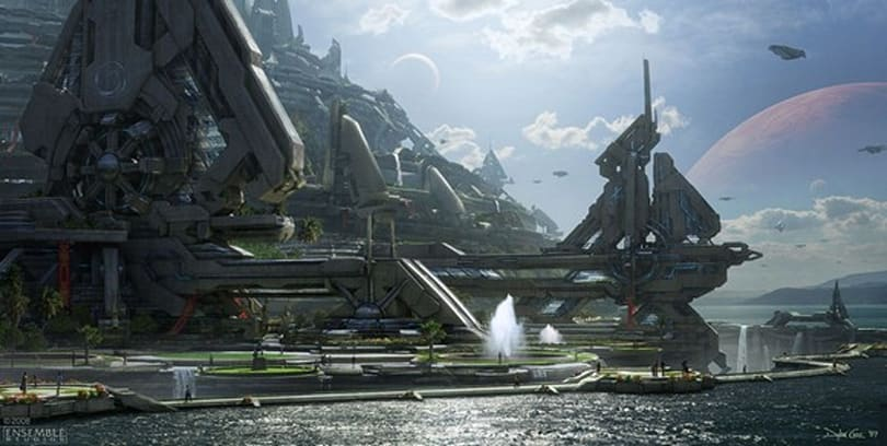 Is this concept art from the canceled Halo MMO?