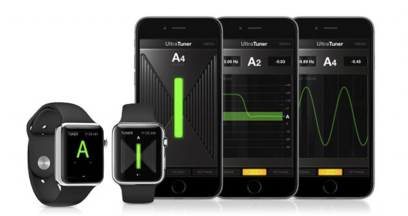 Your Apple Watch can help you tune a guitar