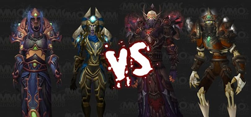 Mighty Battle: Warlock and Warrior Tier 9 sets