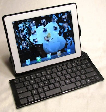 Logitech's Fold-Up Keyboard brings comfortable typing to the iPad 2