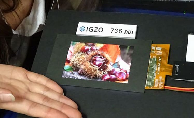 Sharp's new display shows the pixel-density race is far from over