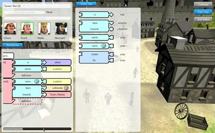 Storybricks video reveals UI, gameplay, zombified NPC