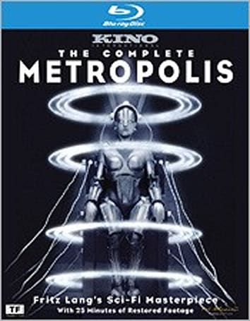 The Complete Metropolis Blu-ray delayed one week, available now on Netflix streaming