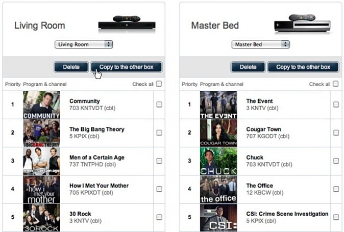 TiVo launches online Season Pass Manager
