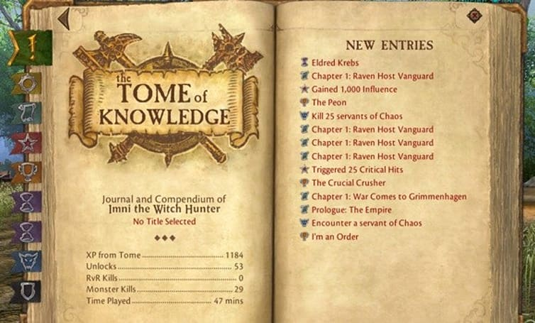 "All the World's a Stage: How to bring Warhammer's ""Tome of Knowledge"" to WoW"