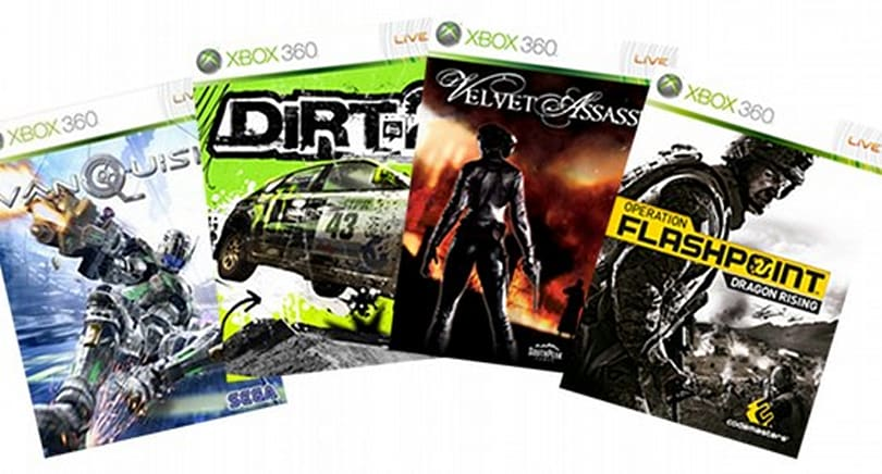 XBL Games on Demand adds Vanquish, DiRT 2, more