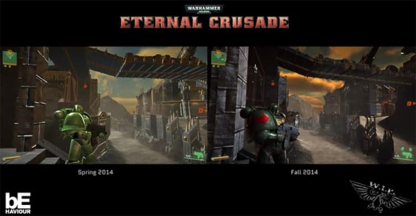 Eternal Crusade shows off space marine model updates