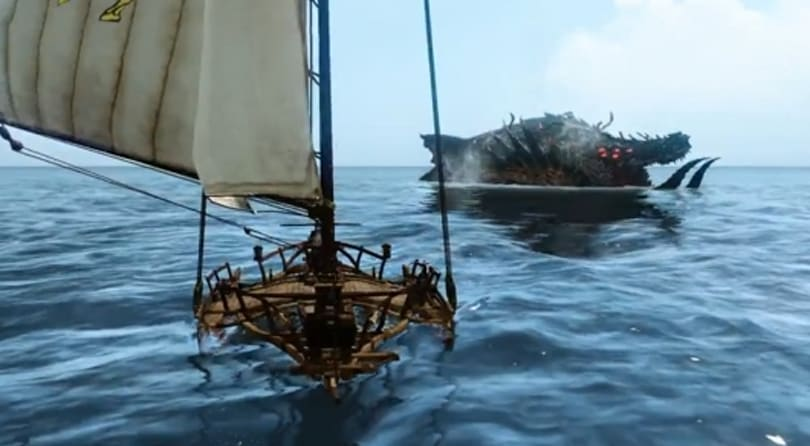 A look at new nautical monsters from the Korean ArcheAge