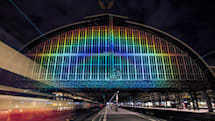 The Big Picture: Telescope tech shines a rainbow on a train station