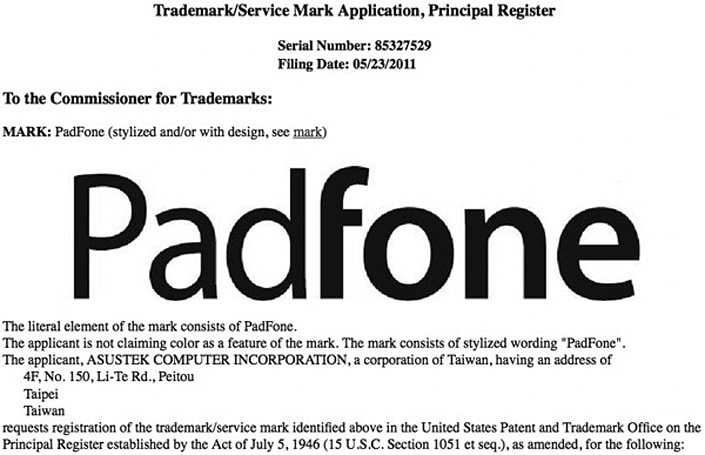 ASUS 'PadFone' to be the final name of the phone-docking tablet?