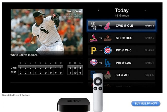 Apple TV software update adds NBA League Pass, MLB.tv and Netflix 5.1 audio support