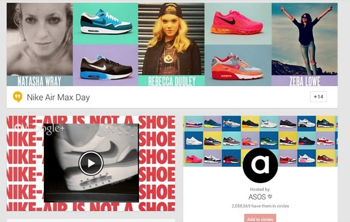 Nike celebrates 'Air Max Day' with the first shoppable Google Hangout