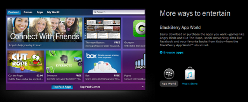 BlackBerry making games catalog fruitful with Jetpack Joyride, Sonic, and more