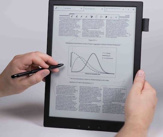 Sony's latest target market for its $1,100 'Digital Paper': legal researchers