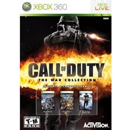 Call of Duty: The War Collection listed by retailers