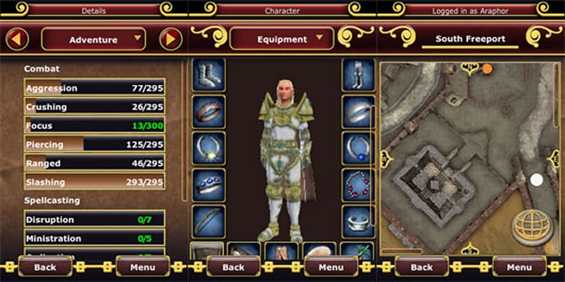 EverQuest II is now mobile