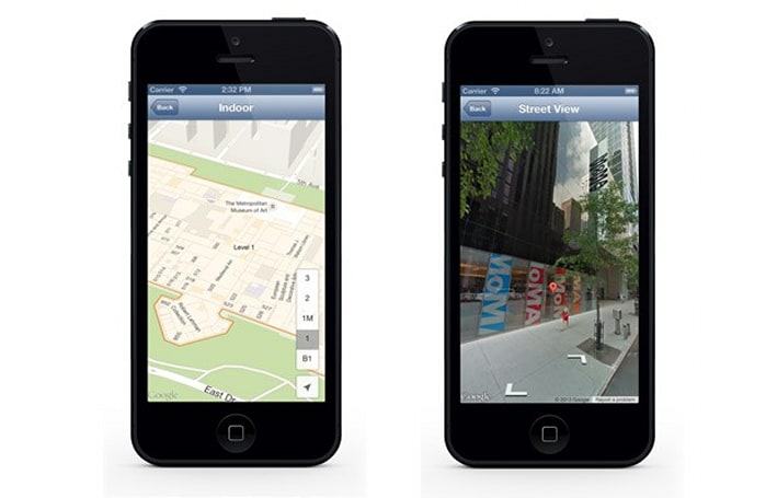 Google Maps SDK v1.4 for iOS brings Street View, indoor maps to your app