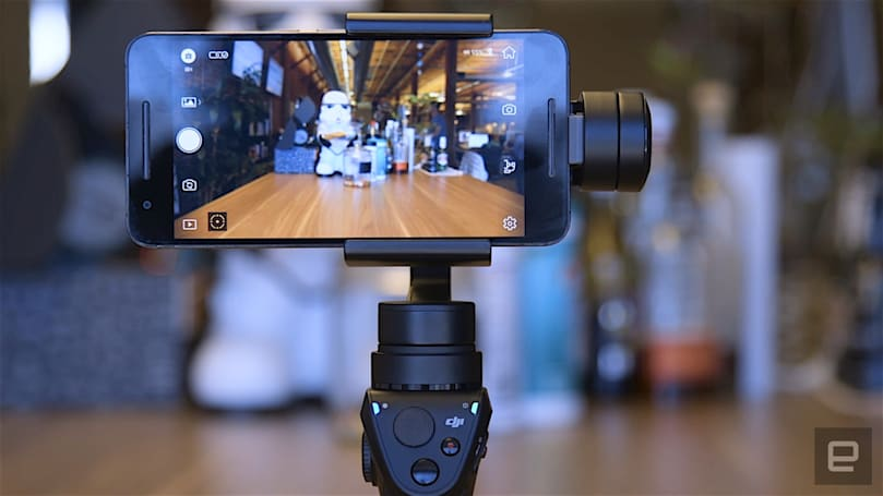 DJI's new OSMO Mobile captures pro-level selfies