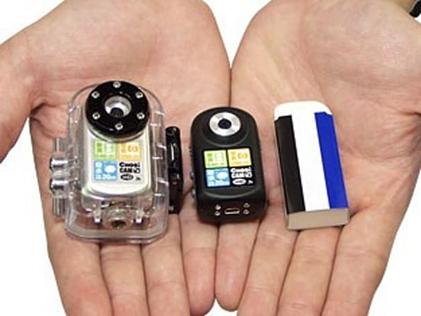 Waterproof Chobi Cam WP camcorder is world's smallest way to record the great unknown