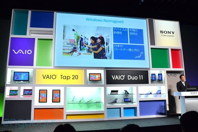 Sony reveals Japan prices for Windows 8 devices, adds touchscreen to VAIO L, E14P and T13