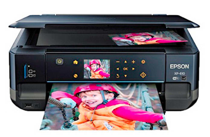 Epson Expression Premium XP-610 Printer: Small printer, big features