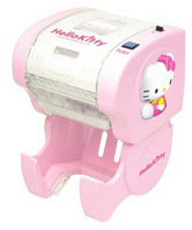 Hello Kitty gets her own automatic toilet paper dispenser