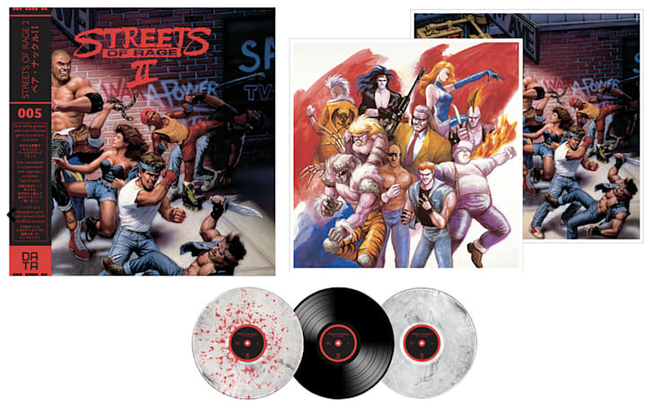 'Streets of Rage 2' soundtrack was remastered for vinyl release