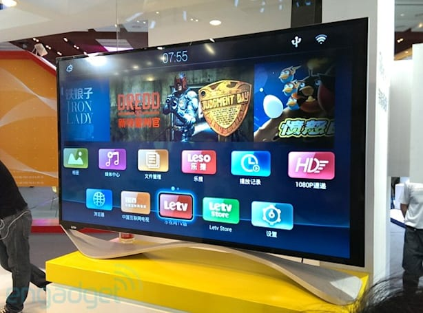 China's LeTV debuts 'Super TV' X60, throws in a quad-core S4 Prime chip