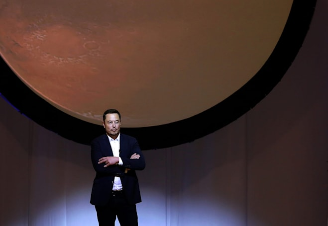 Elon Musk's Mars colony would have a horde of mining robots