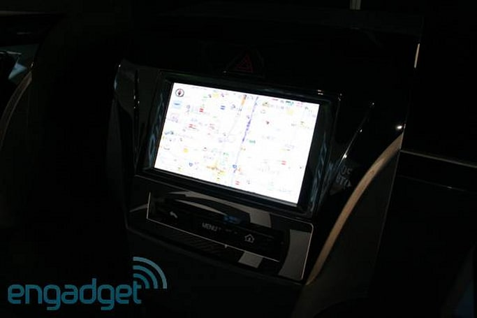 NVIDIA and Fujitsu Ten's Android Car Nav hands-on (video)