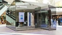 Visualized: Samsung's PIN pop-up stores take London
