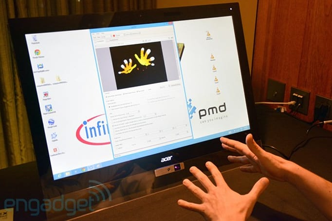 PMD and Infineon to enable tiny integrated 3D depth cameras (hands-on)