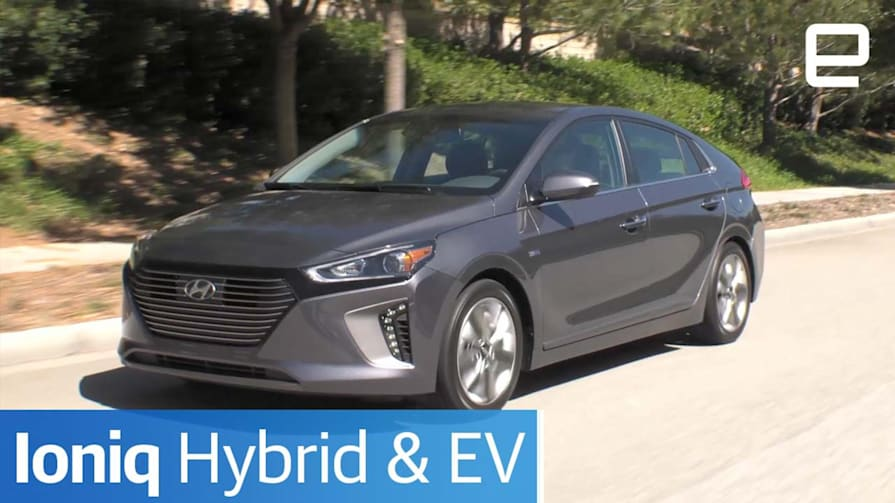 Hyundai Ioniq Hybrid & EV: Hands-On