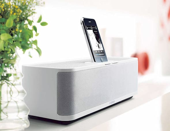 Yamaha PDX-31 iPod / iPhone speaker dock: too sexy for your 90s era living room