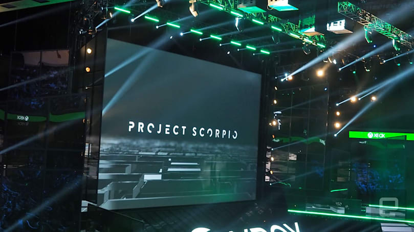 Microsoft's 'Project Scorpio' games will run in native 4K
