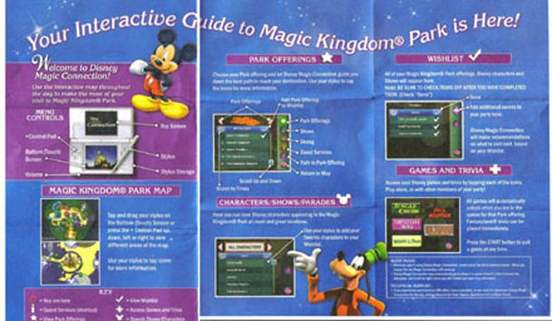 Disney puts Nintendo DS to use as interactive tour guide
