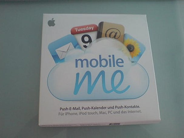 Apple accidentally ships MobileMe to .Mac customers
